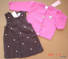 Gymboree Sweet Tooth Cupcake Sweater Dress 6-9-12 NWT