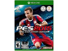 Pro Evolution Soccer || 2015 || Xbox One || Official Licensed Product || NEW ||