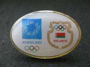 Olympic Athens 2004 Belarus NOC pin badge
