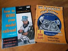 1972 HO Railroad That Grows 1959 How To Wire Your Model Railroad Linn Westcott