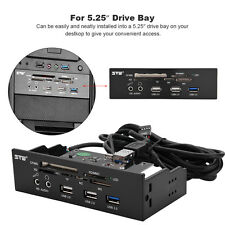 """5.25""""USB3.0 All in 1 Internal Front Panel up to 5Gb/s multi TF SD CardReader  SG"""