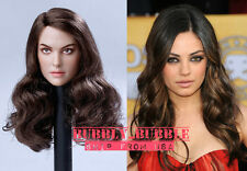 1/6 Mila Kunis Female Head Sculpt For Hot Toys Phicen SHIP FROM USA *IN STOCK*