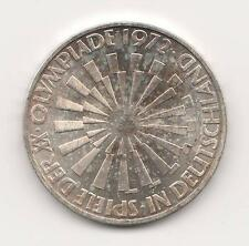 "Federal Republic of Germany, 1972 G 10 Marks, Silver World Coin ""In Deutschland"""