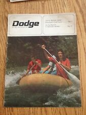 Vtg Dodge News Magazine March 1964