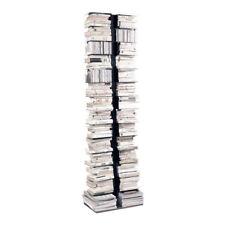 OPINION CIATTI libreria PTOLOMEO PT X2 struttura nera e base inox by RAINALDI