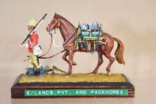 HISTOREX BOER WAR BRITISH EAST LANCASHIRE PRIVATE & PACK HORSE nv