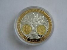 Coin First Mint Memorial To the Euro Normandy Kingdom French Commemorative