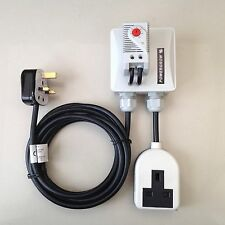 TEMPERATURE HEATER CONTROLLER thermostat for hydro hydroponics growroom tent LED