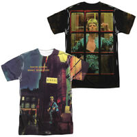 Syd Barrett Colorful Picture TITLE 1-Sided Big Print Poly T-Shirt
