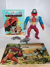 Roboto 1984, Vintage He-Man MOTU, complete + back card, comic