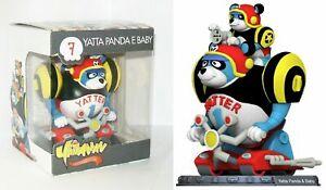 YATTAMAN CULT COLLECTION N.7 YATTA PANDA STATUA 3D FIGURE 12 CM  MINT IN BOX