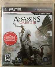 Assassin's Creed III Sony PlayStation 3, 2012 CIB - IMMACULATE ~ Ships Tomorrow