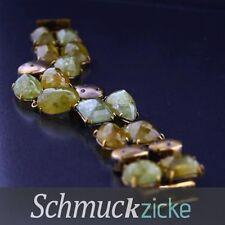Unbehandelte Armbänder mit Edelsteinen Sets aus Gelbgold