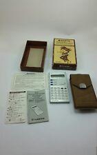 Rare Vintage SANYO CX-7250H Electronic Calculator Pedometer