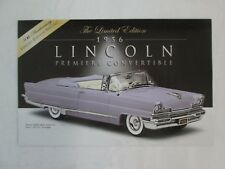 Danbury Mint Brochure 1956 Lincoln Premiere Convertible LE