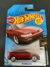 2019 Hot wheels D-Case 1988 HONDA CR-X  #49/250 -DD5 Wheels Japanese Classic!