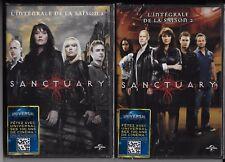 SANCTUARY L'INTEGRALE DE LA SAISON 1 & 2 EN 8 DVD NEUF SOUS BLISTER