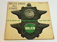 MILES DAVIS All Stars COVER ONLY LP 7076 Prestige