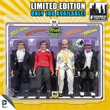 BATMAN 1966 TV SERIES, 2; 4 Pack Exclusive  ;8 inch action figures  limited 100