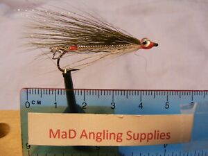 (F) Size 4 OLIVE FRY STREAMER Fly for Fishing FREE BOX - 10 Flies, Pay 1 Post