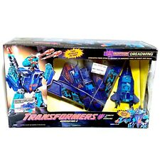 Vintage 1993 G2 Transformers Dreadwing Deception Jet In Box 100% Complete MIB
