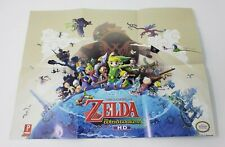 The Legend of Zelda The Windwaker HD Prima Guide Double Sided Poster & Sea Chart