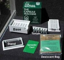 """The CAPSULE MACHINE Complete Kit w/Tamper Tool (SIZE """"00"""") Capsule/Pill Filler"""