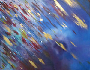 Original Painting Abstract Art by Rain Crow