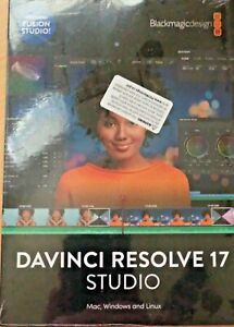 Davinci Resolve Studio v.17 - brand new in sealed package - USA Seller