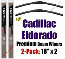 Wipers 2 Pack Premium Wiper Beam Blades fit 1970-1985 Cadillac Eldorado 19180x2