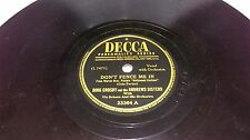 BING CROSBY ANDREWS SISTERS DECCA PERSONALITY SERIES DON'T FENCE ME IN CABALLERO
