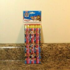 Nickelodeon Paw Patrol Pencils School Stationary Supplies 10 Piece Set NEW
