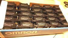 Omron PTF14A-E Relay Socket (50pcs) 4PDT 14 blade pin 10a amp 240v din mount LY4
