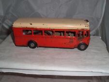 TRIANG MINIC PUSH & GO London Transport SINGOLO Decker bus funzionante