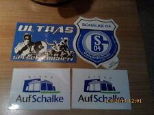 Fußball-Aufkleber vom FC Schalke 04 Fan-Kameras