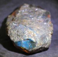 Dominikanischer Grün Blauer Klarer Bernstein Amber Rohstein 191gram