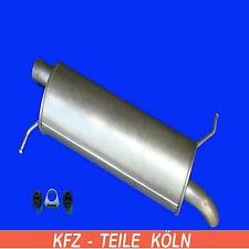 VW Sharan 2.0 - Exhaust System Muffler Exhaust End Box + Assembly Kit