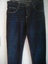 LL Bean Girl double narrow leg jeans sz 16