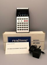 Antigua calculadora Realtone Electronic Calculator Model KP-460A, año 1976
