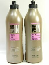Saloon In Keratin Hair Shampoo & Conditioner DEAL PACK 33.8oz/1 Liter