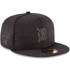 Detroit Tigers New Era Black 2018 Clubhouse Collection 59FIFTY Fitted Hat