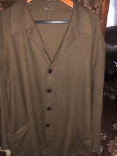 Zanella Men's Shirt Jacket No Lining Size 42 Made In Italy