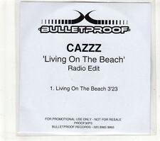 (GT660) Cazzz, Living On The Beach  - 2005 DJ CD