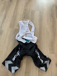 Le col X Wahoo indoor training bibs EUC Size S For Zwift Or Peleton Bike