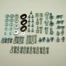 93pcs PLASTICS BOLT KIT HONDA CR 80 85 125 250 450 480 500 FENDERS SEAT BODYWORK