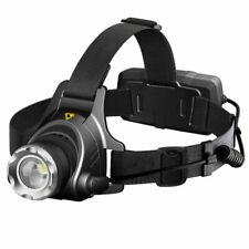 500lm LED Headlight Flashlight Head Torch for Camping, Hiking - Black