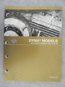Harley Davidson 2010 DYNA Models PARTS CATALOG  99439-10