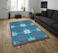 Handmade Living Dining Bed Room Rug Carpet Dhurrie 54 X 84 inches