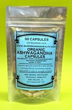 Ashwagandha Capsules 520mg*Protects Immune System*Combats Stress*Improves Memory