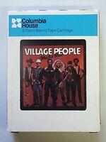 VILLAGE PEOPLE MACHO MAN Vintage 8 Track Tape Casablanca 1978